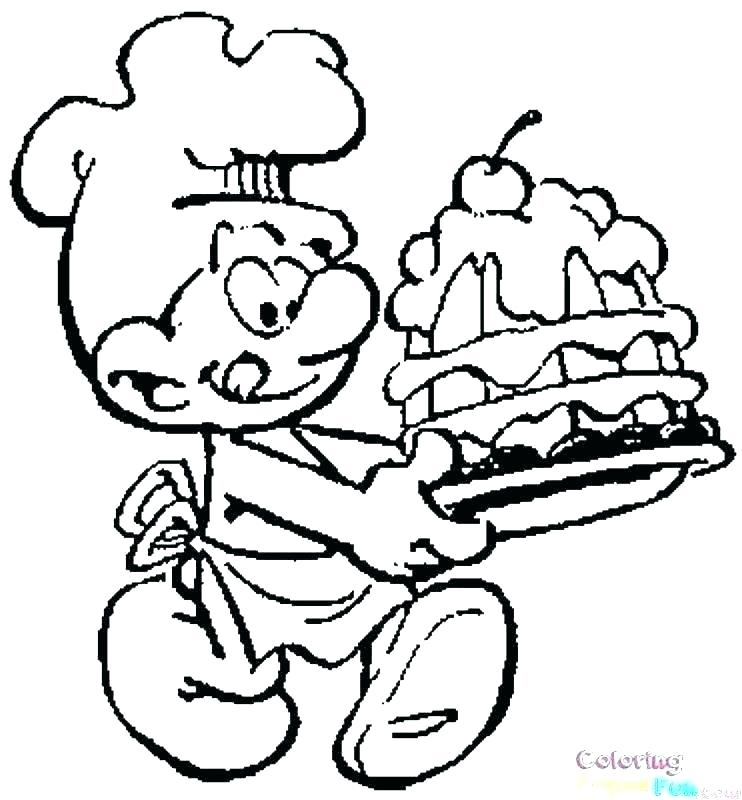 smurf coloring pages siirthaber