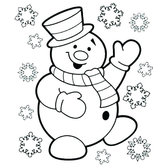 snowman coloring pages cingular