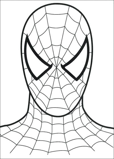 spiderman coloring page free pages pdf huikaclub