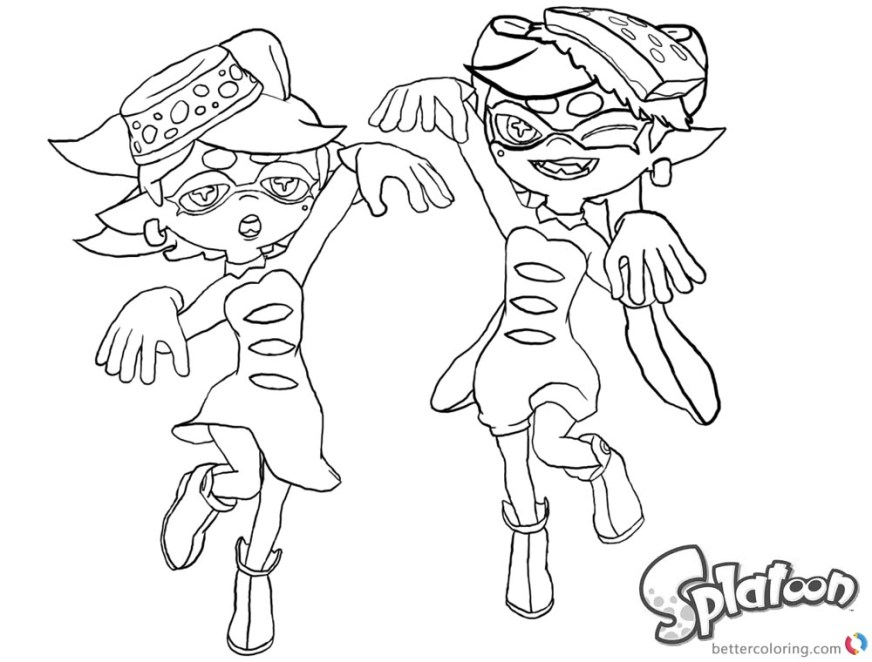 splatoon 2 coloring pages at getdrawings free for