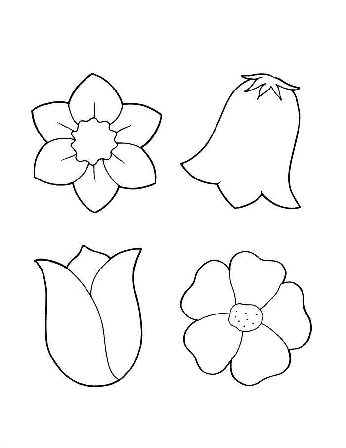 spring flower coloring pages flowers coloring sheet