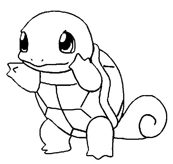 squirtle coloring pages pokemon coloring pages for kids