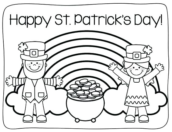 st patrick day coloring pages disney at getdrawings