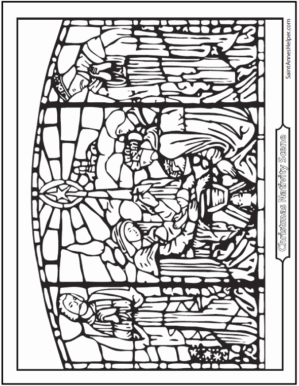 stained glass coloring book new stained glass coloring pages