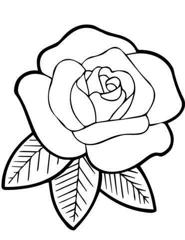stained glass rose coloring page free printable coloring pages