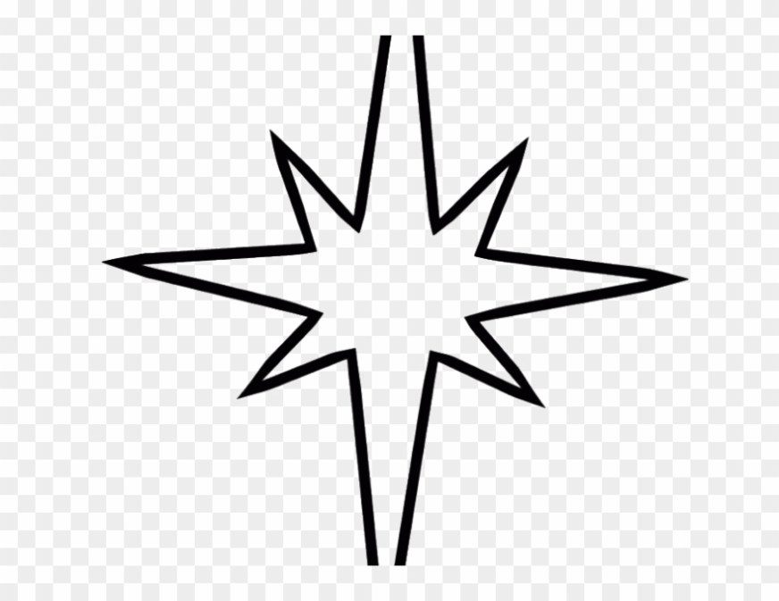 star coloring book coloring pages of christmas star clipart