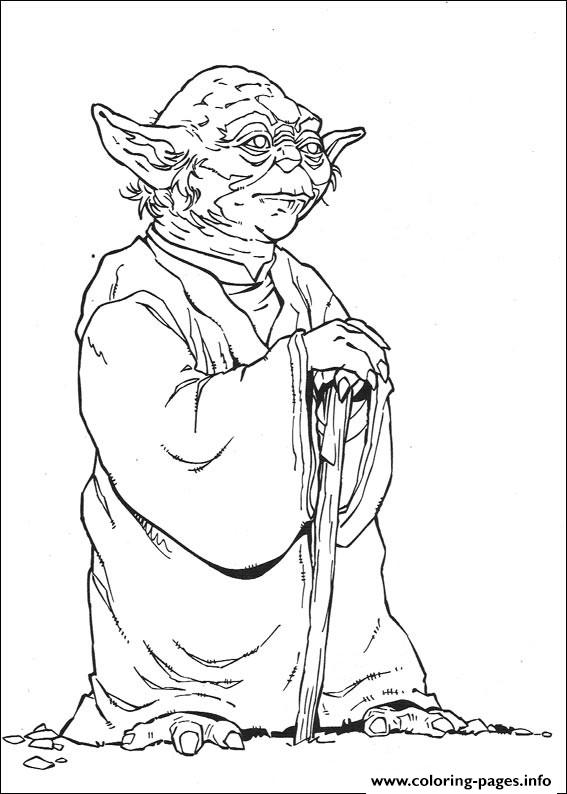 star wars yoda coloring pages printable