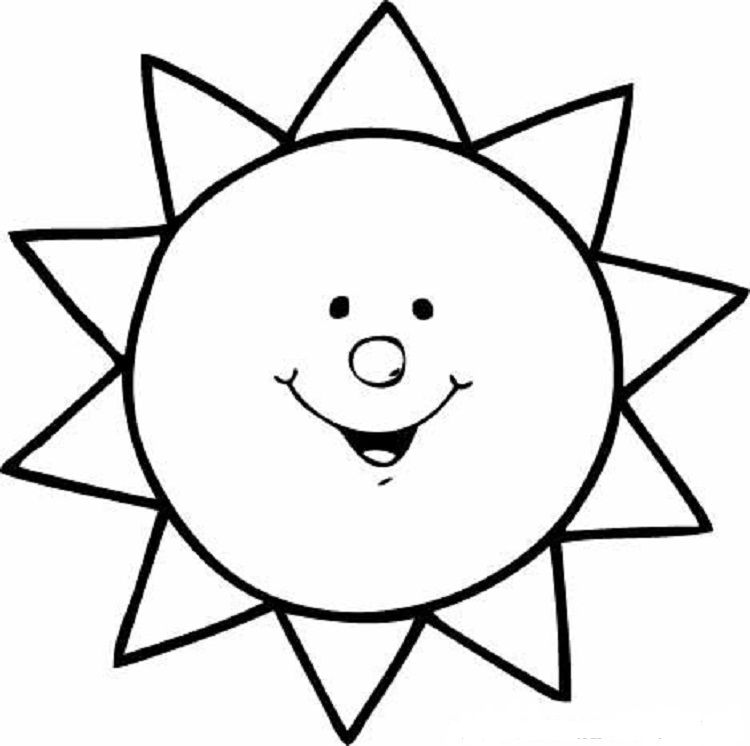 sun coloring pages for kids sun coloring pages coloring