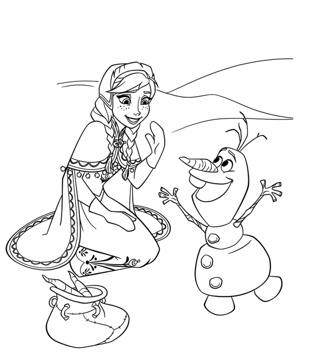 super coloring book frozen olaf coloring page coloring book