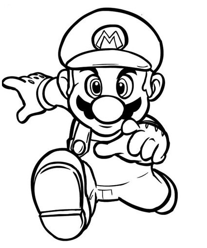 super mario bros coloring pages 39 pictures to print and