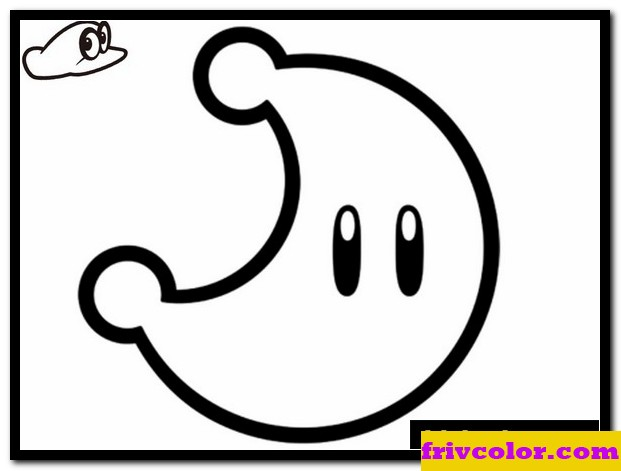 super mario odyssey power moon friv free coloring pages