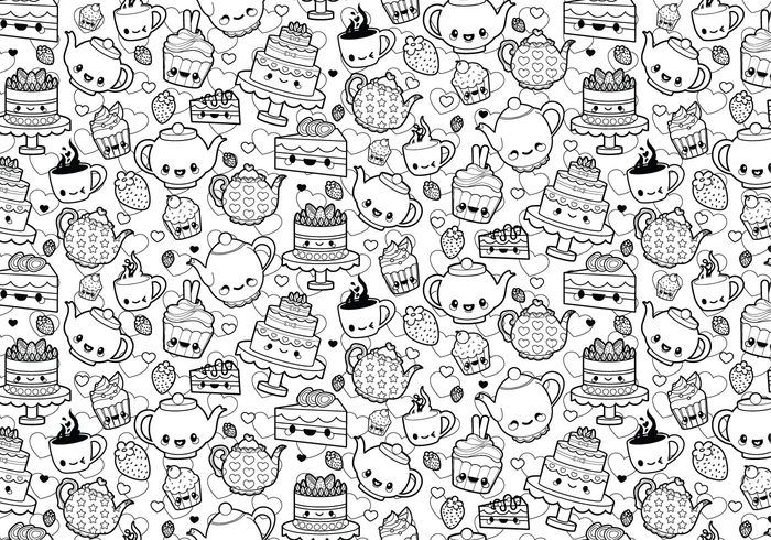 tea party coloring page malvorlage einhorn malvorlagen