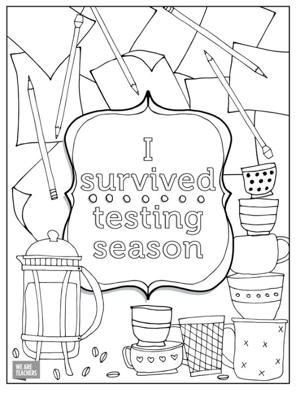 teacher coloring pages printables at getdrawings free