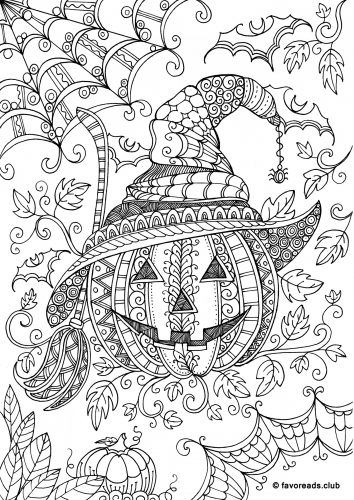 Adult Halloween Coloring Pages Collection   Whitesbelfast