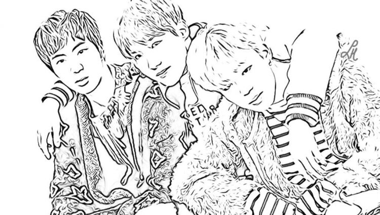 the best free kpop coloring page images download from 11