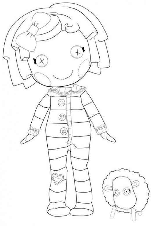 the best lalaloopsy dolls coloring pages lustige