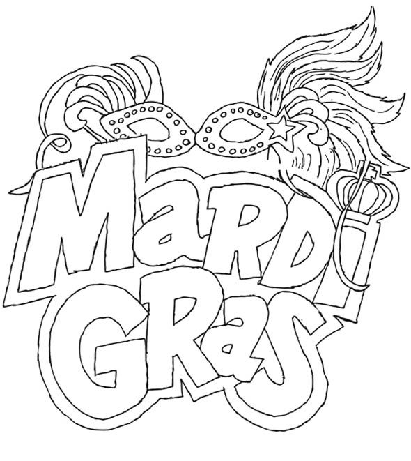 the carnival season of mardi gras coloring pages crafts