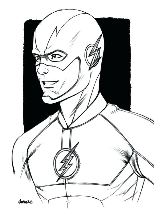 the flash coloring page colouring pages free autosteklapro
