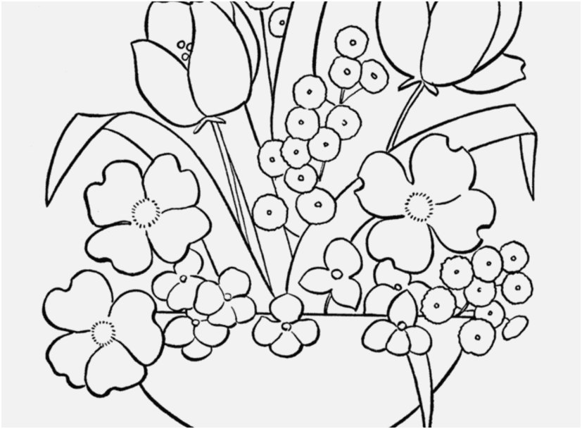 the right view coloring pages for flowers information