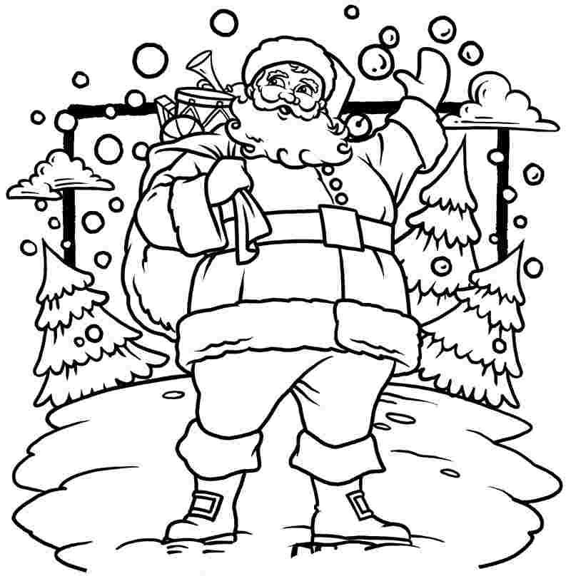 the santa caluse 3 coloring pages pomorski