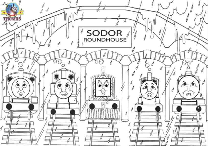 thomas and friends to color for kids thomas and friends