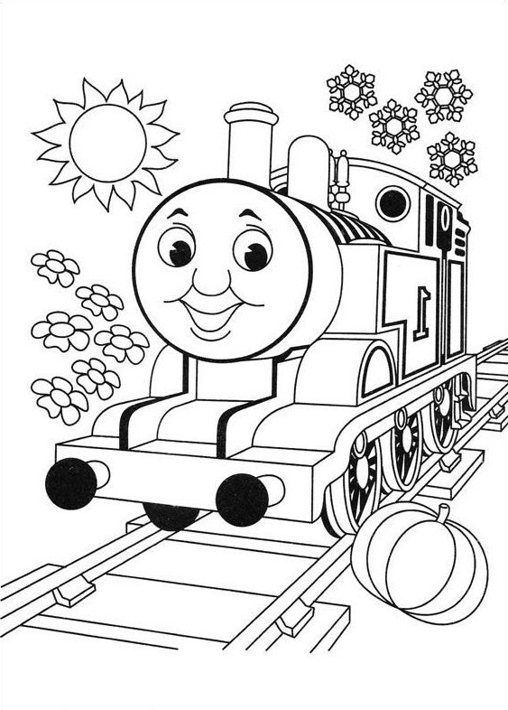 thomas the train coloring pages crafted here