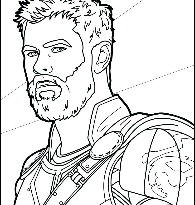 thor ragnarok coloring pages at getdrawings free for
