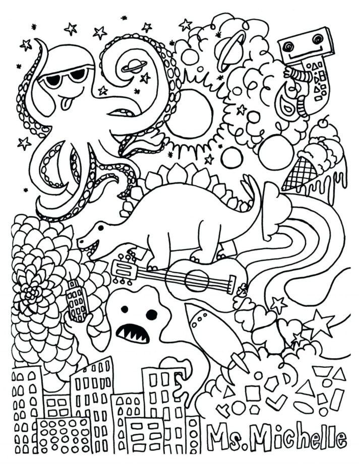 top 33 fine coloring pages for kids each commandments thou