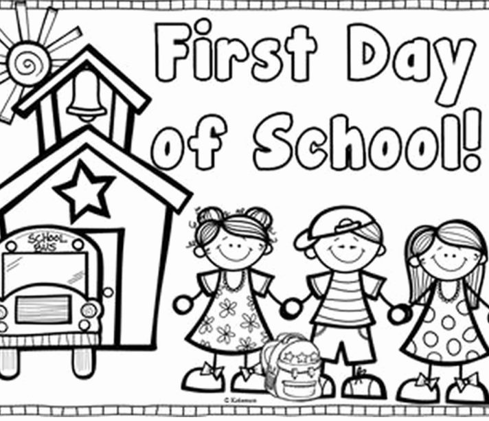 top 53 cool first day of preschool colorings back to school