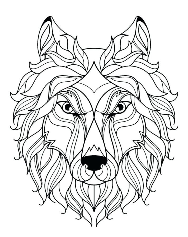 top 53 unbeatable wolf coloring pages printable realistic