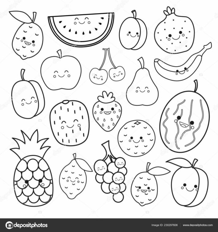 top 59 fabulous fruits coloring page fruit pages free