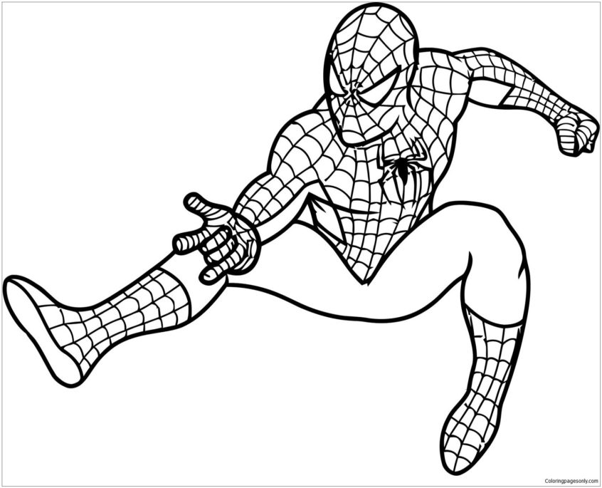 top coloring pages coloring spiderman games for kids pc to