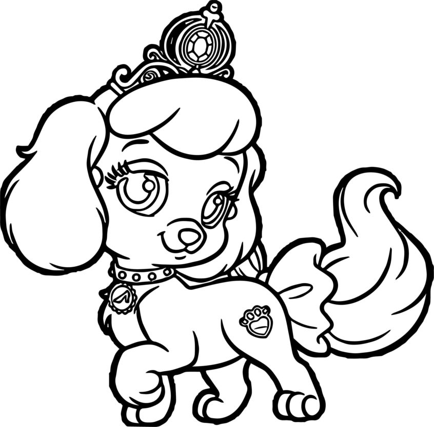 Free Puppy Coloring Pages Robertdee.org