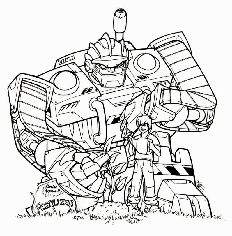 transformer rescue bots coloring pages transformers