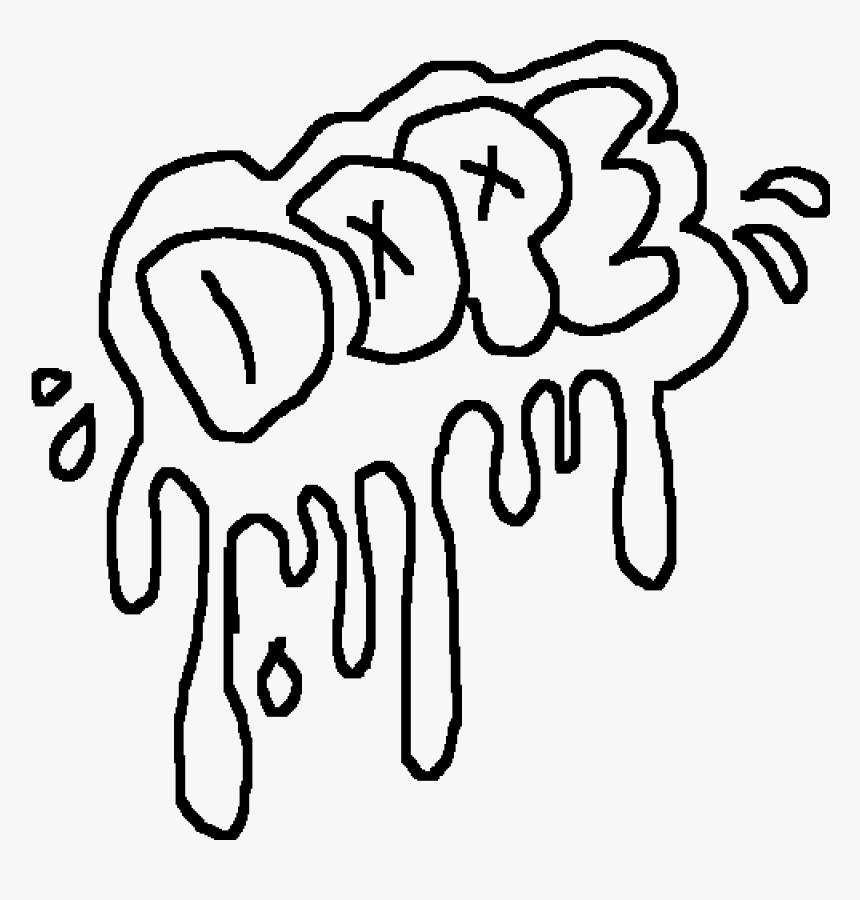 transparent clipart danke cool graffiti coloring pages hd