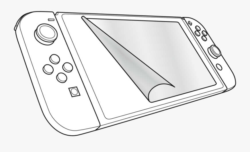 transparent video game clipart black and white nintendo