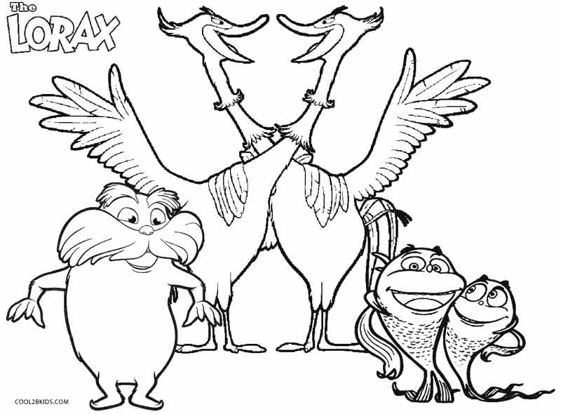 truffula trees coloring pages 6 brave lorax coloring pages