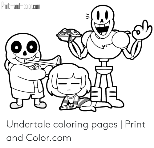 undertale coloring pages to print pusat hobi