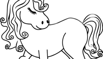 Unicorn Coloring Pages - Free Printable Coloring Pages at ... | 200x350
