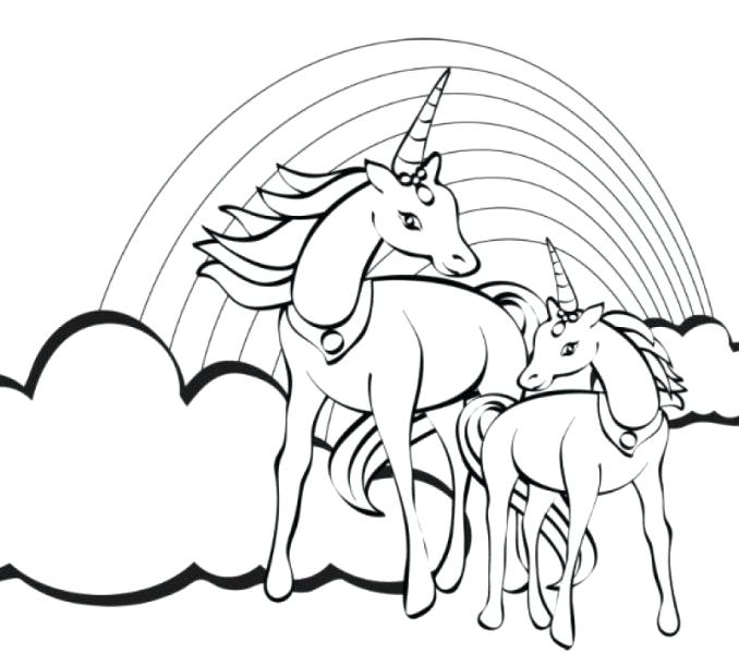 unicorn coloring pages for adults at getdrawings free