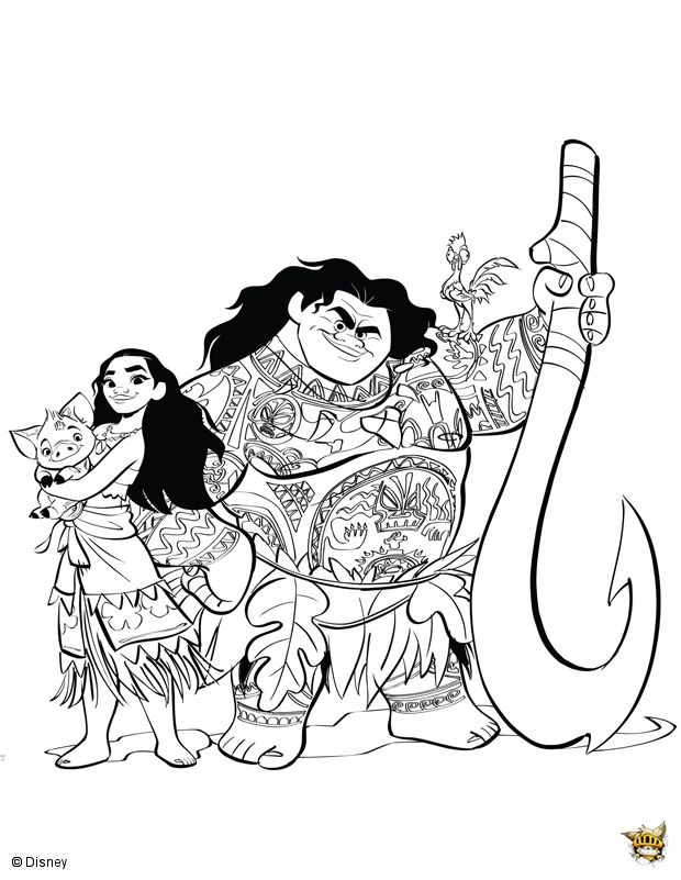 vaiana affiche moana coloring pages moana coloring