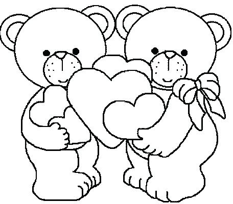 valentines day coloring pages for preschool at getdrawings