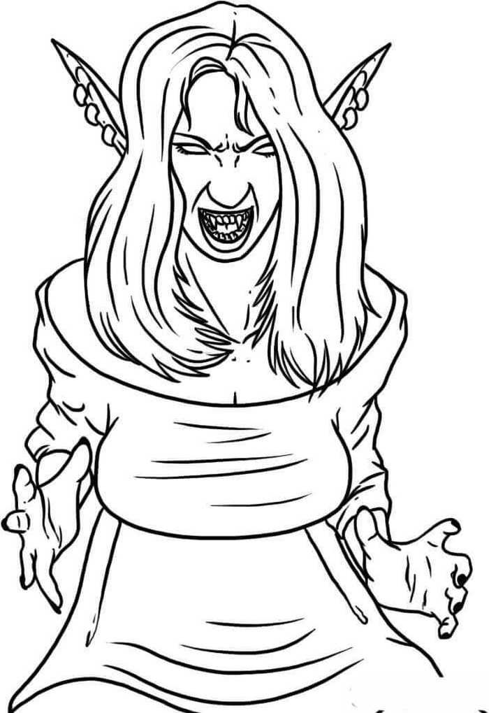 Vampire Coloring Pages Ideas Whitesbelfast