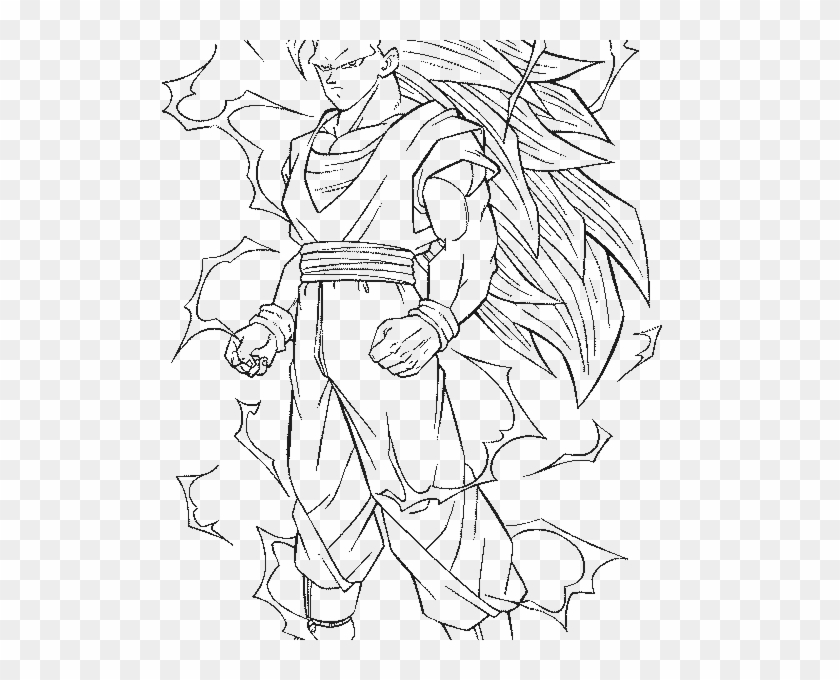 vegeta super saiyan 3 coloring pages dragon ball full