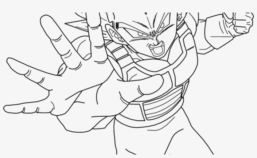 vegeta super saiyan coloring pages print out vegeta ssj