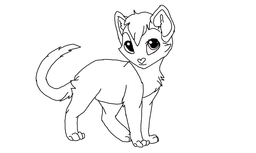 warrior cats coloring pages coloring sheets