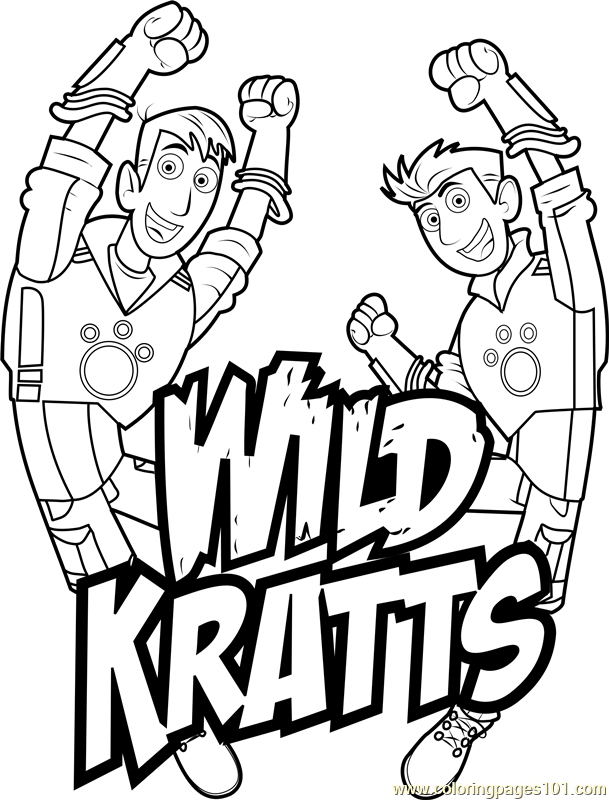 wild kratts coloring pages wild kratts coloring pages