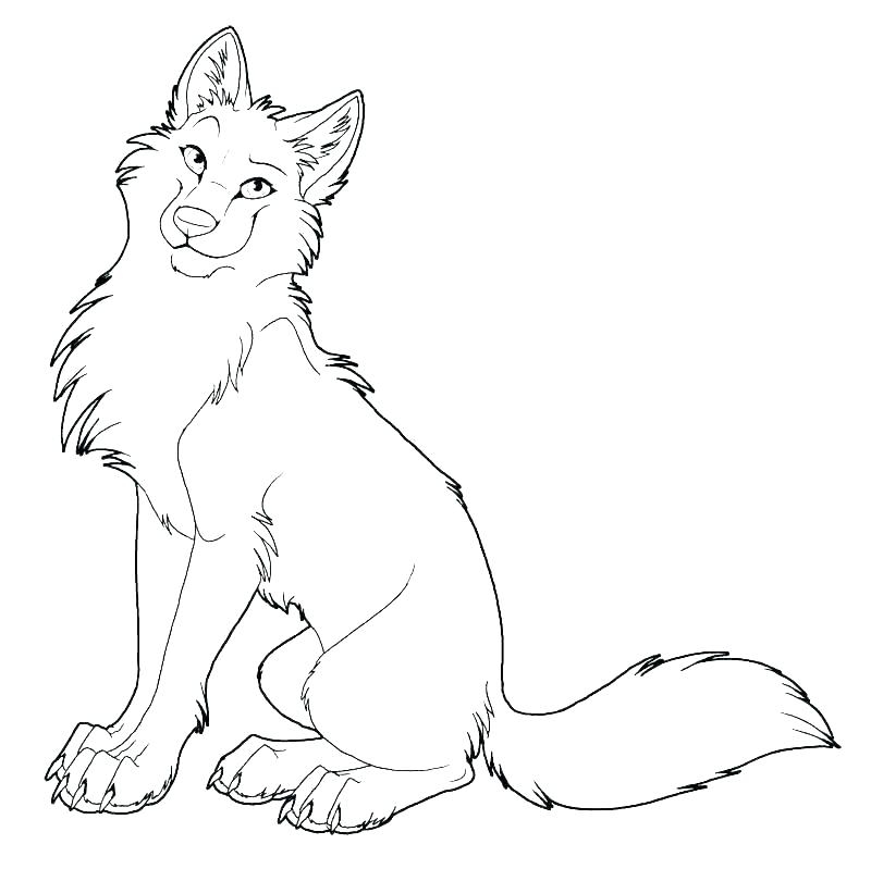 wolf coloring pages anime dopravnisystem