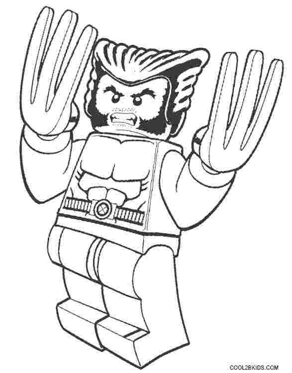 wolverine cartoon coloring pages wolverine logan free