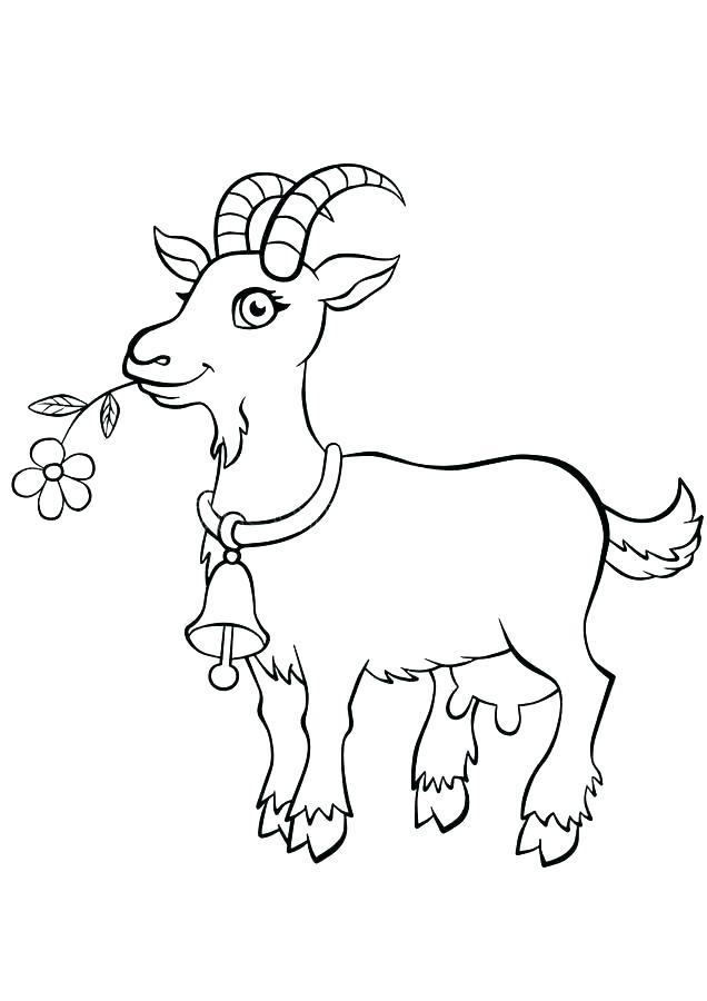 year of the goat coloring page hottestnews